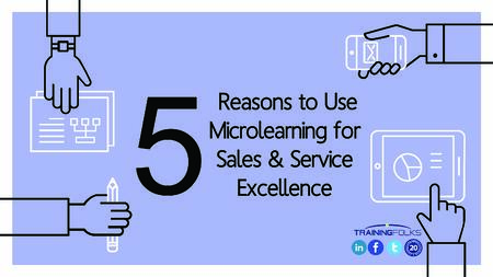 Microlearning for Sales and Service