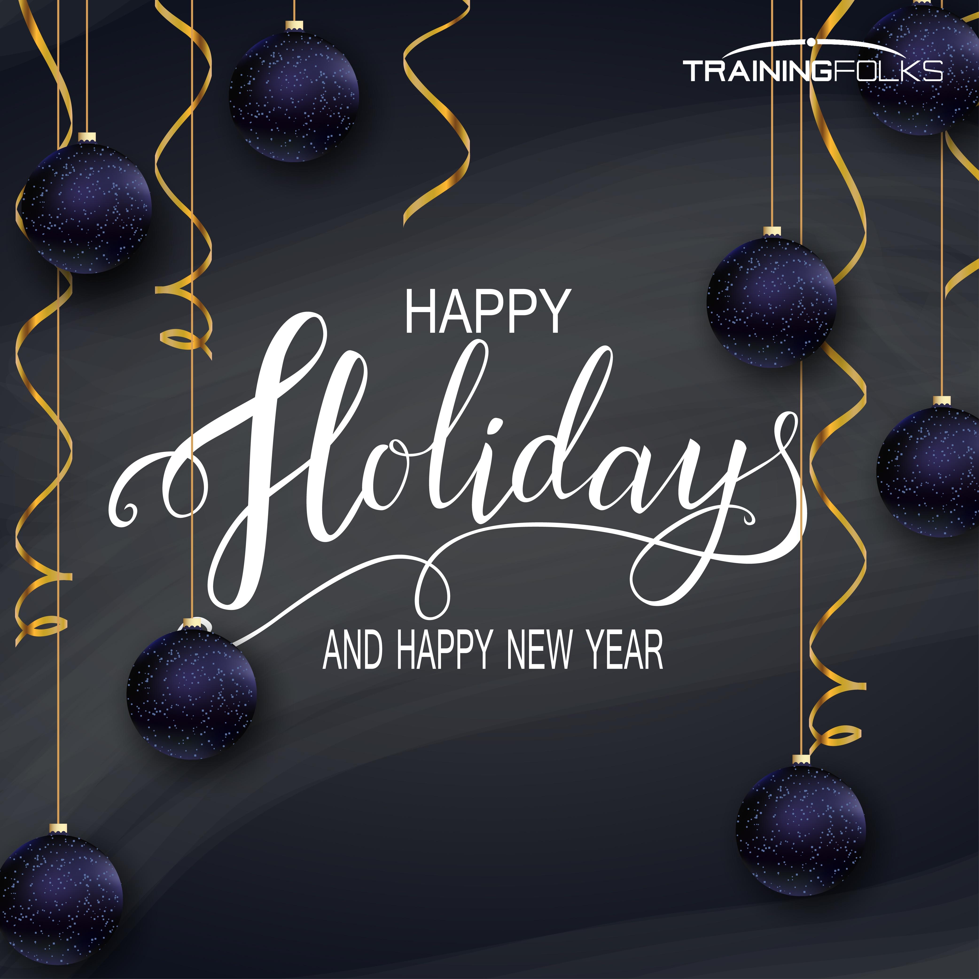 Happy Holidays TrainingFolks