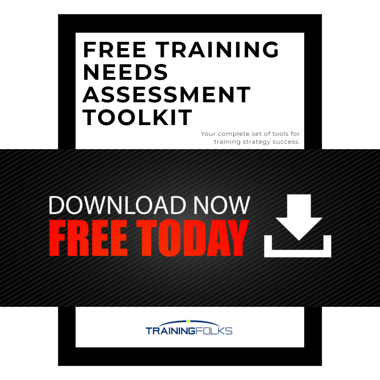 Free Training Needs Assessment Checklist