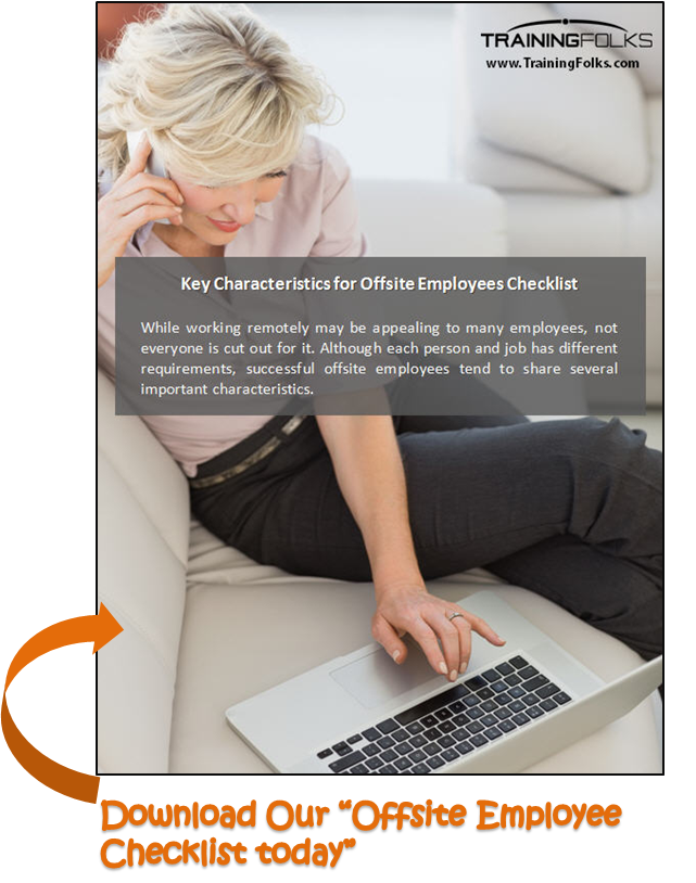Offsite Employee Checklist- Training Companies