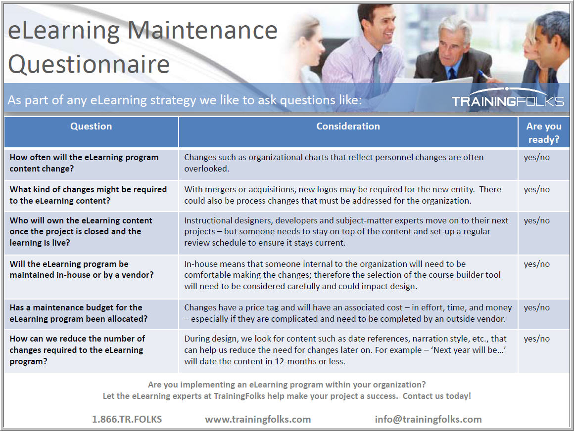 eLearning_Maintenance_Questionnaire