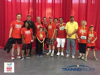 TrainingFolks Team Ride For Heart